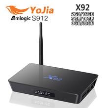 3กิกะไบต์16กิกะไบต์3กิกะไบต์/32กิกะไบต์X92 Amlogic S912 Android 6.0 TV Box OctaแกนKodi 16.1แปล้5กรัมWifi 4พันH.265 X92สมาร์ทSet Topกล่อง