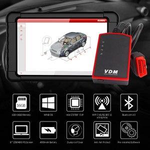 Image 5 - Ucandas scanner automotivo profissional vdm obd2, sistema completo, scanner automotivo, wi fi, multilíngue, ferramenta de diagnóstico de carros, atualização gratuita