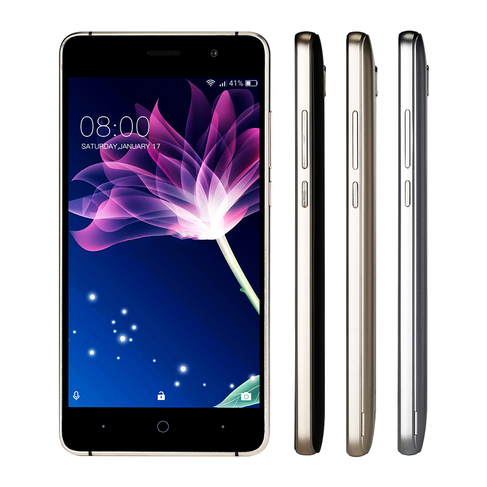 DOOGEE X10 mobile phones 5.0Inch IPS 8GB Android6.0 smart phone Dual SIM MTK6570 1.3GHz 5.0MP 3360mA