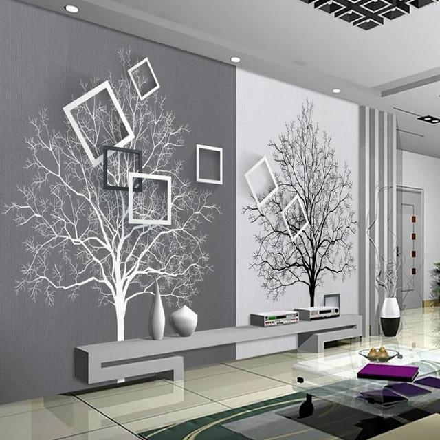 Aliexpress Com Buy 3d Walls Wallpaper Rolls Photo Wall: 3d Wall Paper Rolls Wallpaper For Walls 3d Murals HD Black