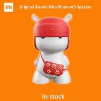2016 Yeni Orijinal Xiaomi Mitu mini Bluetooth Hoparlör Mini AÇTı boyutu Taşınabilir LED Dahili Destek 32 GB SD Kart Kablosuz Shinning