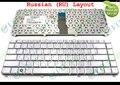 Genuine new ru teclado notebook portátil para hp pavilion dv5 dv5-1000 dv5t dv5z prata russo 9j. n8682.l0r 488590-251 nsk-h5l0r