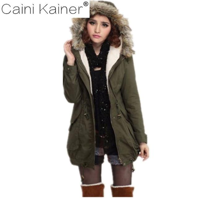 2017 femmes hiver coton-rembourré veste manteau avec chaud épais d hiver  col de ddec3c21731f