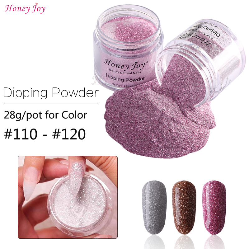 Very Fine Shine Glitter Colors 28g/box Dipping Powder No Lamp Cure Nails Dip Powder Gel Nail Salon Effect Natural Dry #110-121 Exquisite Workmanship In