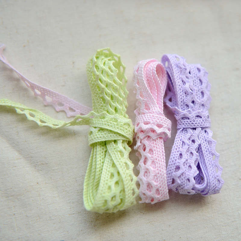 2018 hot sale Marca dragon color cotton lace accessories baby teeth lace f936