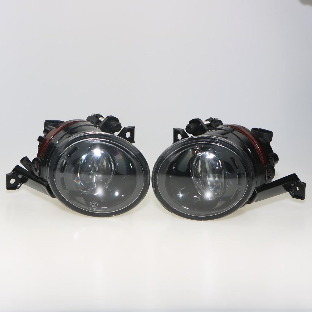 1 пара Новый 9006 вилка 12 В 55 выпуклая линза фары Противотуманные Лампа для Tiguan EOS поло Touran Golf MK6 1T0 941 699 C 1T0941700C