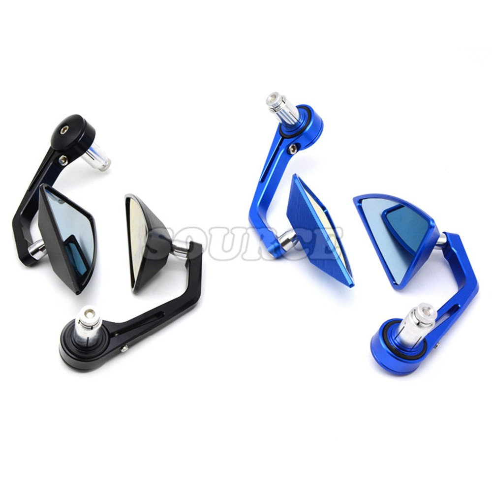 7/8 Accessories Motorcycle Rearview Mirror Round Handle Bar End Mirror Rear Side Mirro for HONDACRF150 07-16 CR125R/250R