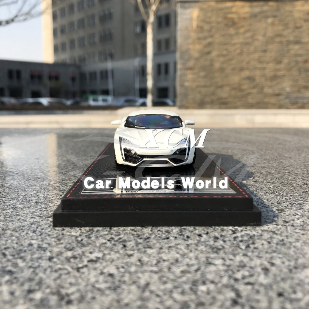 Diecast Car Model for Keng Fai W MOTORS HyperSport 1 43 White NOTHING OPENS SMALL GIFT