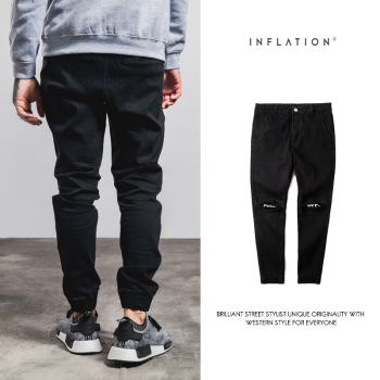 New Famous Ripped Frayed Pants For Men