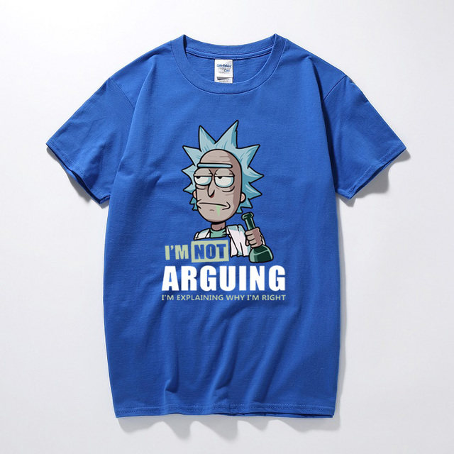 RICK AND MORTY T-SHIST (7 VARIAN)