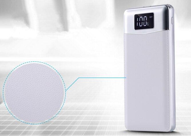 2018 neue 30000 mah Power Bank Externe Batterie LCD Tragbare handy Ladegerät für iphone Xiao mi mi schnelle ladegerät