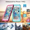 Redpepper caso tpu + pc para o iphone 7 7 plus (4.7-5.5 polegada) novo caso à prova d' água pro em volta couvert para iphone frete grátis
