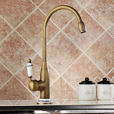 Vintage Style Brass Kitchen Sink Faucet  Water Tap ,Torneira Parede Pia De Cozinha Grifo Cocina brooklyn girls pia