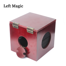 Dean Box (Dean Dill)  magia Linking Ropes And Ring magic tricks wooden box stage magie illusion wholesale