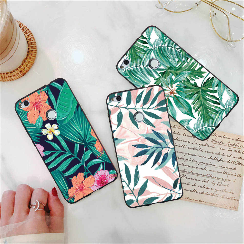Shockproof Phone Cases For Huawei Honor Note 10 8X 8 6c Pro Honor 7A 7C 7X 6A 6X Soft Cases Cool Cat Fish Love Heart Soft Covers