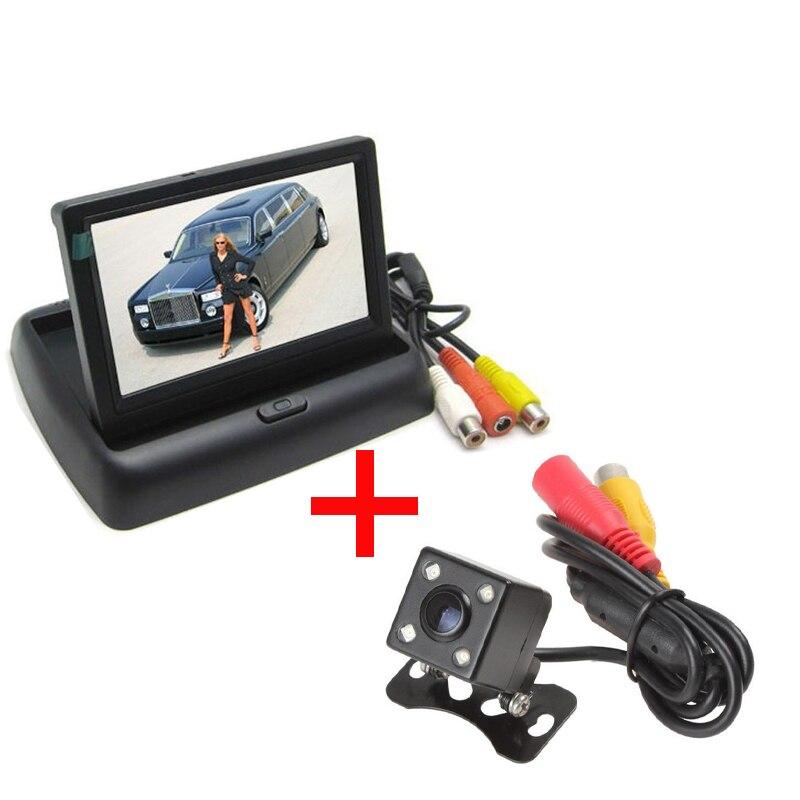 XYCING Sistema de estacionamiento de automóviles 4,3 pulgadas TFT - Electrónica del Automóvil