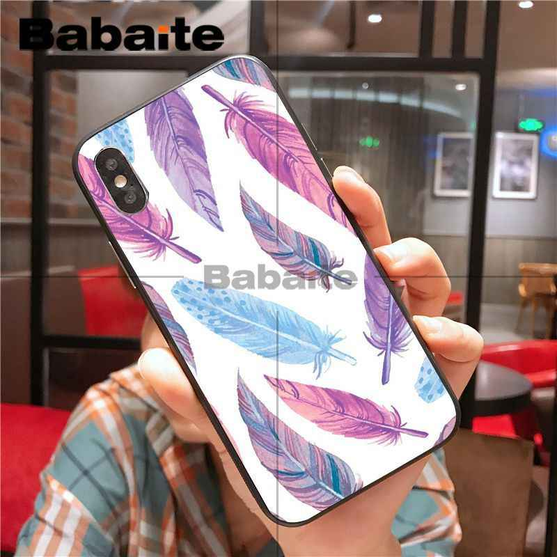 ための iphone 11pro 芸術羽の動物黒ソフトシェル電話ケース iphone X XS 最大 8 7 6S プラス 5S XR 携帯電話