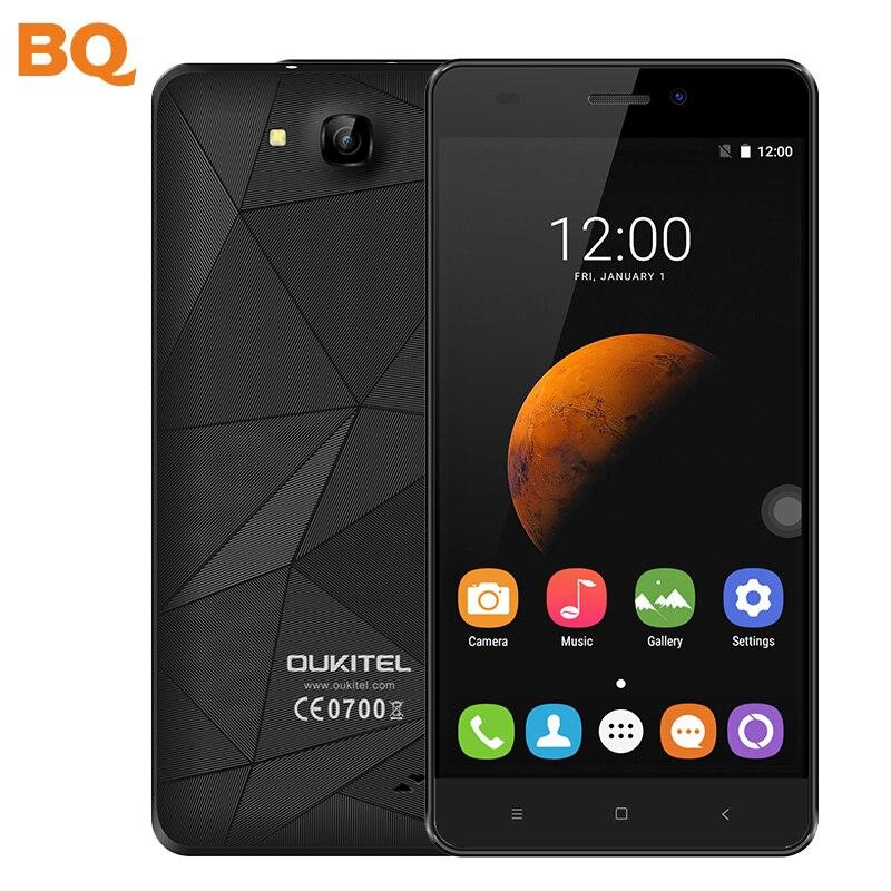 Цена за Оригинал oukitel c3 смартфон 5.0 дюймов разблокирована 3 г wcdma мобильный телефон android 6.0 quad core mtk6580a 1 ГБ + 8 ГБ ips hd мобильный телефон