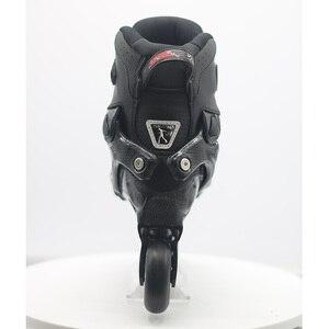 Image 5 - 100% оригинальные роликовые коньки для взрослых SEBA Trix2, роликовые коньки, кроссовки с рокерной рамой, скольжение, сладкие FSK патины, взрослые