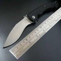 Offre spéciale couteaux pliants tactiques à froid D2 lame en acier G10 poignée Camping couteaux de survie en plein air outils EDC