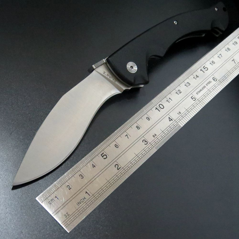 Hot sale Designed tactical cold Folding Knives D2 steel Blade G10 handle Camping Outdoor Survival Knives EDC Tools цены