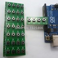 8 pcs Botão Interruptor 4 Teclado Módulo Placa chave Teclado para Placa De Ensaio Arduino DEVIDO Leonardo ZERO Tre Micro banana pi Zigbee