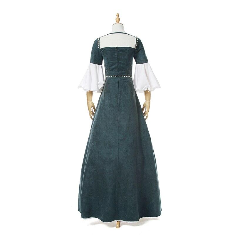 Rolecos Frauen Klassische Viktorianischen Kleider Queen Perle Party ...