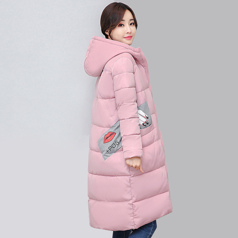 New Long Parkas Female Womens Winter Jacket Coat Thick Cotton Warm hooded Jacket Womens Outwear Parkas Plus Size Coats QH0604 2017 winter women coat warm down cotton padded jacket thick hooded outwear plus size parkas female loose medium long coats