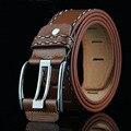 2017 Hot Sale Mens Belts Luxury Casual Leather Belt Men Pin Buckle Strap Ceinture Homme Luxury