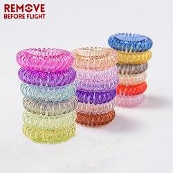 5 pièces en gros couleur bonbon téléphone fil Bracelet chaînes bijoux élastique bandeau câble Sauna plage bracelets