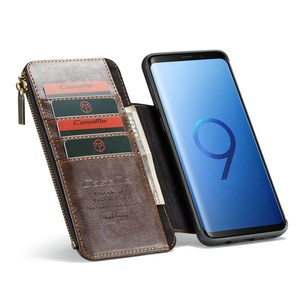 Image 2 - Purse Wristlet Phone case For Samsung Galaxy  s9 plus note9 coque Luxury Leather Fundas Etui Protective Covers accessories bags