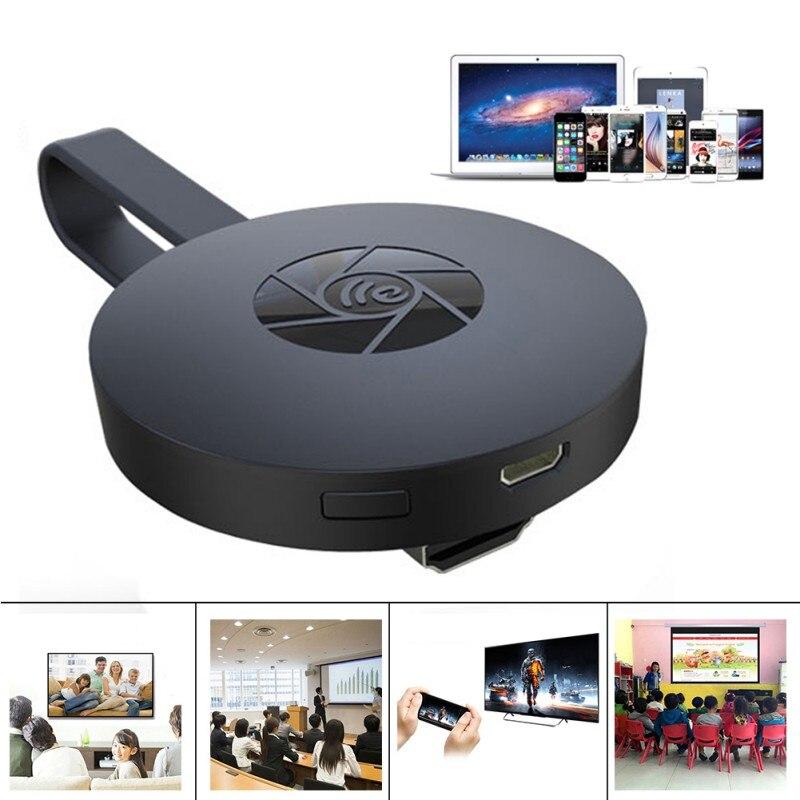 Android WiFi Display TV Dongle receptor 1080 p HD TV Stick Airplay Media Streamer adaptador de medios de comunicación para Google Chromecast 2