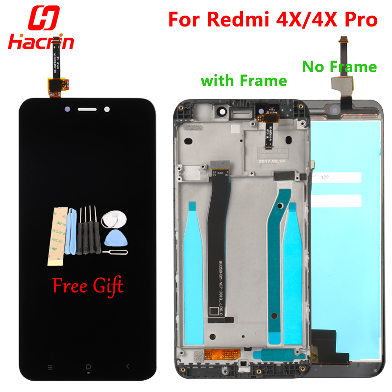 Xiaomi Redmi 4X Display LCD Touch Screen Test di Buona Digitizer Assembly di Ricambio Per Xiaomi Redmi 4X Pro Prime 5.0 pollici