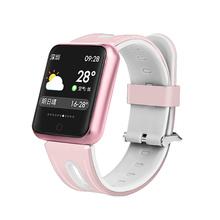 Sportowe IP68 smart watch P68 bransoletka fitness aktywny Tracker tętna Monitor ciśnienia krwi dla Ios Android Apple IPhone 6 7 tanie tanio centechia Passometer Fitness tracker Uśpienia tracker Wiadomość przypomnienie Przypomnienie połączeń Pilot zdalnego sterowania