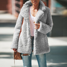 Winter Fleece Sweater Sherpa Fluffy Teddy Cardigan Plus Size 5XL Coat Women Warm Streetwear