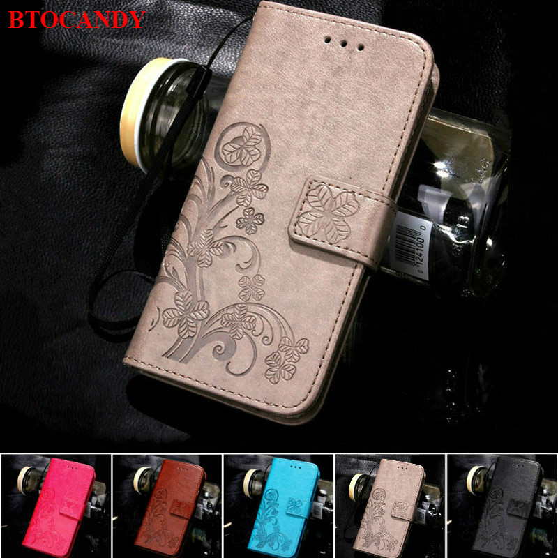 Voor iPhone 5S 4S 5 6 S 6S 8 7 Plus Leather Flip Case Voor Samsung Galaxy J5 J7 J3 2016 J1 A3 A5 J5 2017 S5 S7 S6 Edge S3 S4 Mini