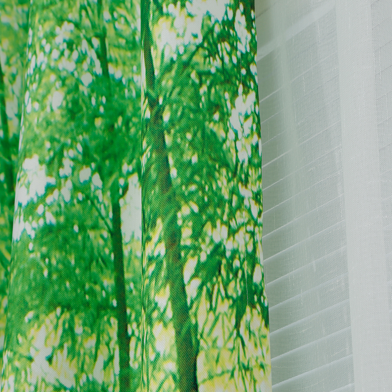 Hohe Quatily Chinesischen Bambus Vorhang Stil Grun Schlafzimmer