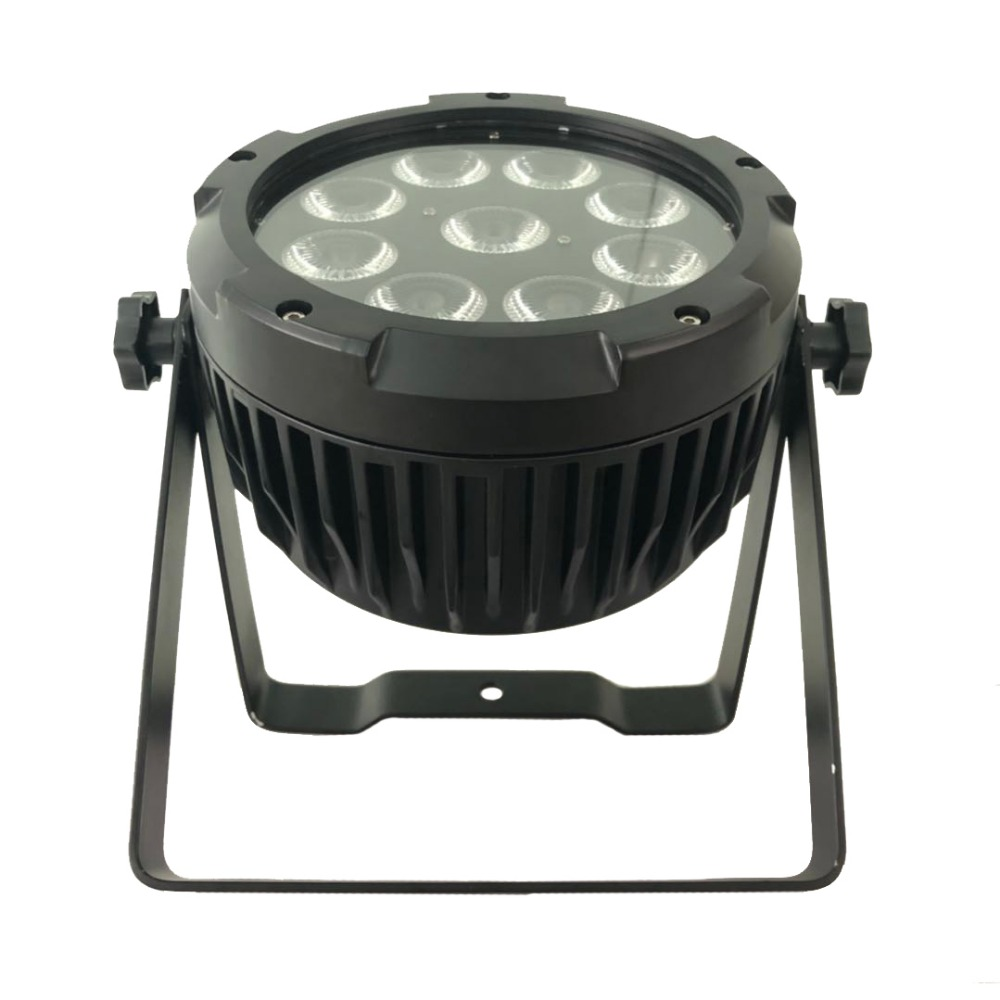 IP60 indoor battery par led stage lighting 9x15w RGBWA UV 6in1 WiFi dmx512 sounds control powered led party wedding club pub
