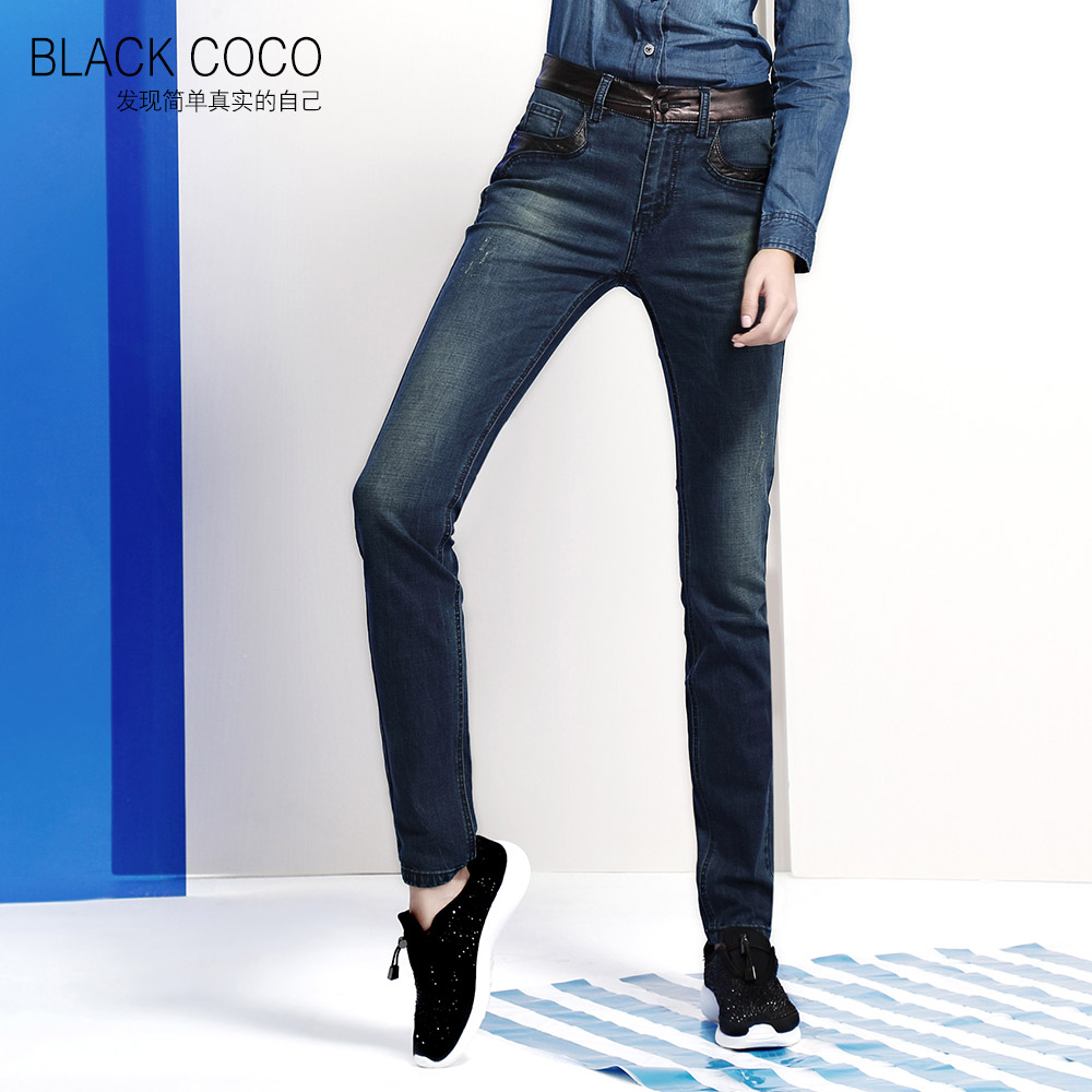 2016 New Fashion Women Jeans Pants Slim Pencil Skinny Denim High Waist Plus Size Ripped Blue Vintage Zipper 054b212  new arrival 2017 summer pointed toe shoes high heels ankle buckle stiletto sandals elegant simplicity dress heel shoes pumps