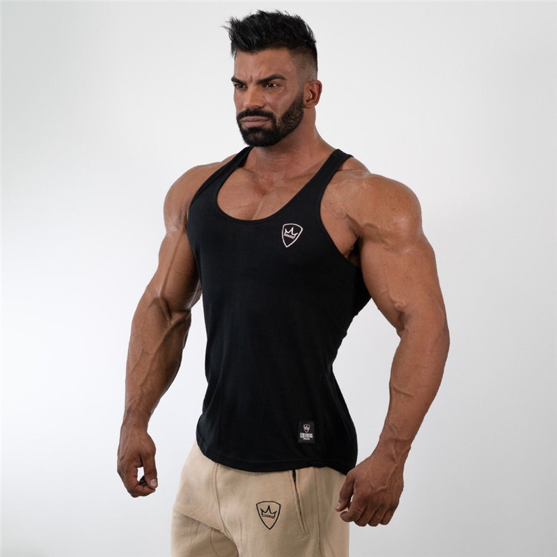 mens   tank     tops   shirt gym   tank     top   fitness clothing vest sleeveless cotton man canotte bodybuilding ropa hombre man clothes wear