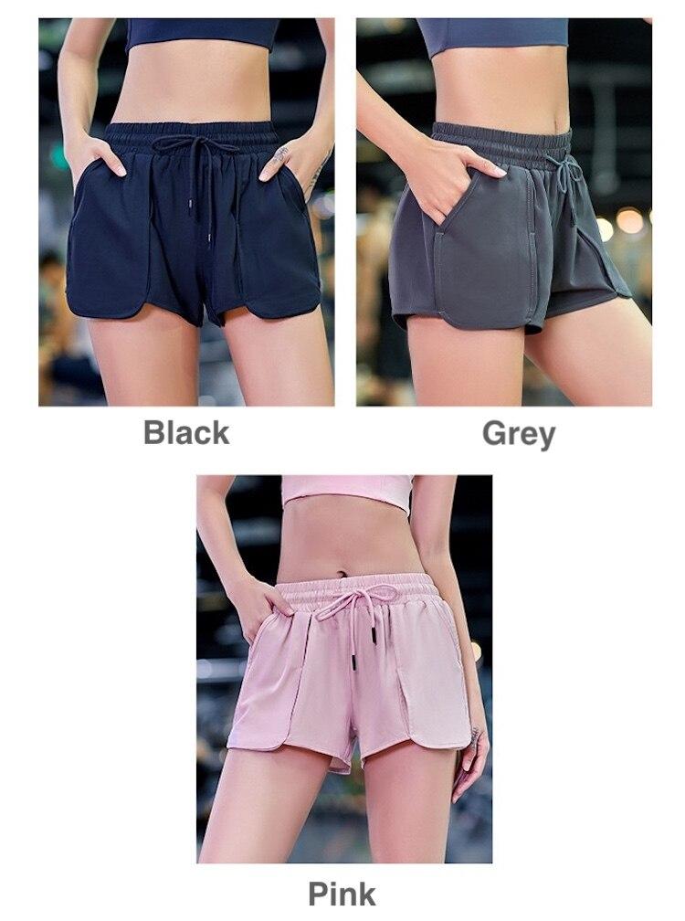 Shorts de ioga