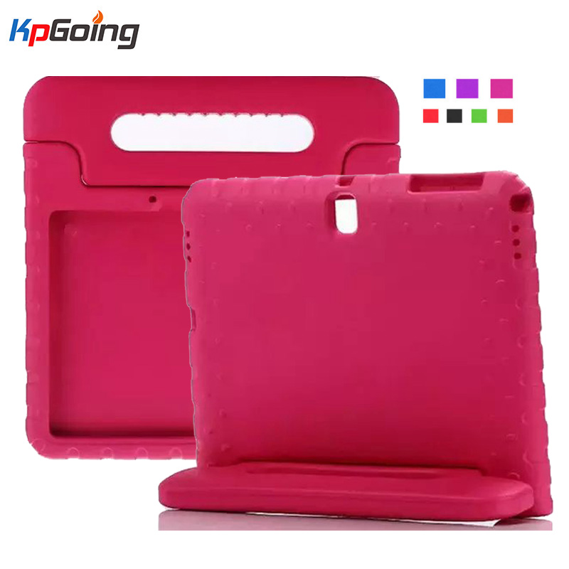For Samsung Galaxy Tab S 10.5 Case Kids T800 T805 Shockproof EVA Foam Protective Cover For Samsung Tab S 10.5 SM-T800 Kids Stand for samsung galaxy tab s 10 5 inch tablet t800 t805 2 in 1 removable wireless bluetooth abs keyboard leather stand case cover