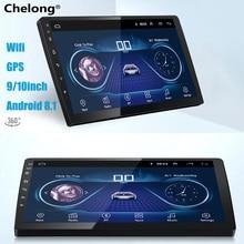 9/10 pollici Android 8.1 universal Car Radio 2 din android autoradio Lettore DVD di NAVIGAZIONE di GPS WIFI Bluetooth Lettore MP5 CAM posteriore