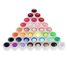 36 Colors Nail Gel 8ml Nail Art Glitter UV Lamp Nail Polish Gel Acrylic Builder Glue Solid Set Long Lasting Top Sale NEW SALE