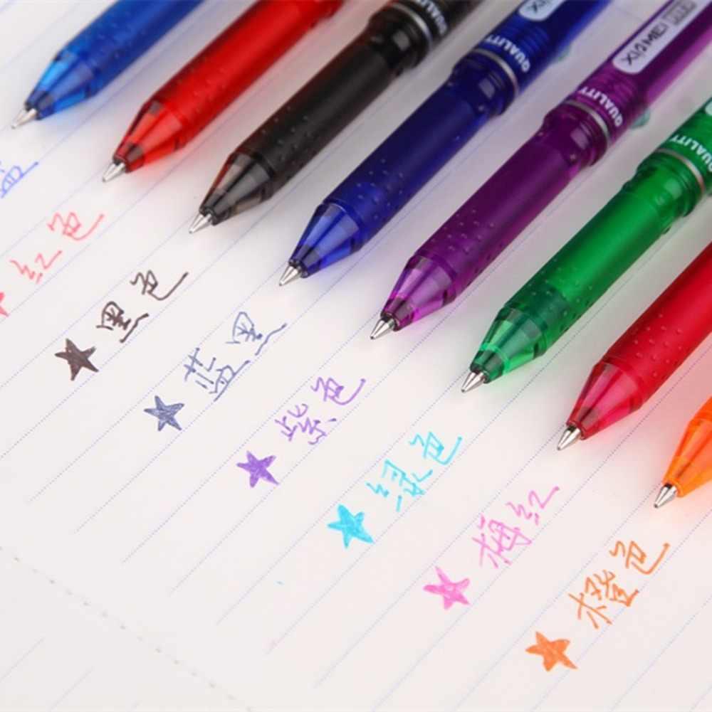 1 sztuk/partia GENKKY Kawaii biurowe X-8802 karty kontroli temperatury kasowalna długopis osiem rodzajów kolorów do wyboru