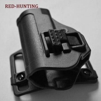 Di Alta Qualità Tactical Serpa Cqc Occultamento Rapido Mano Destra Passante per Cintura Pistola Della Custodia per Armi per Ppk