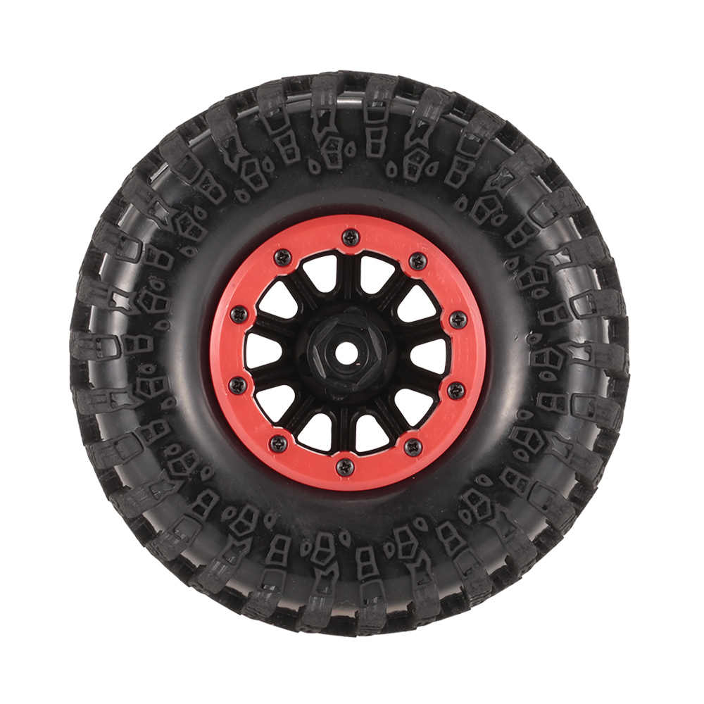 4 pcs AX-3021A 130mm 2.2in Velg Rubber Tyre Wheel RC Banden 1/10 Kit voor Axiale SCX10 RC4WD D90 1/10 RC Auto RC Rock Crawler Onderdelen