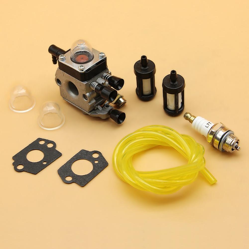 Carburetor Ignition Coil For STIHL FS38 Trimmer Carb Fuel line Filter
