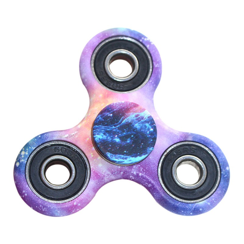 4 Colors ABS Ceramics Beads Children Toy EDC Three Corner Hand Spinner For Autism and ADHD Relief Anxiety Stress Toys Kids new arrived abs three corner children toy edc hand spinner for autism and adhd anxiety stress relief child adult gift