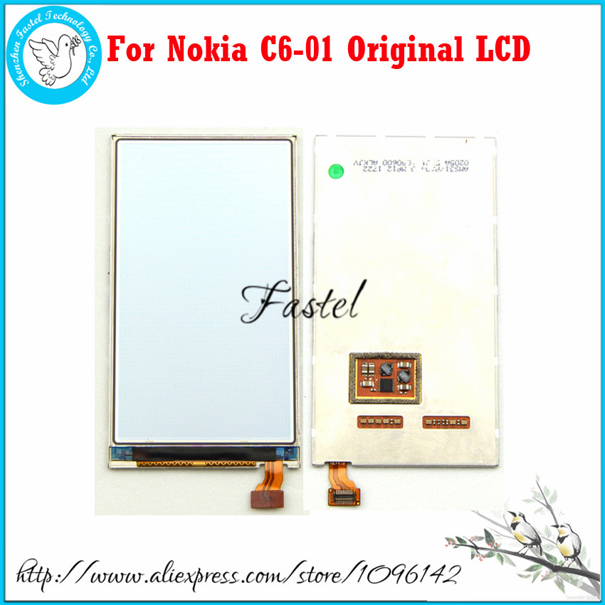 For Nokia C6-01 Original New Mobile Phone LCD screen digitizer display+Free Tools+Free shipping new original mobile phone lcd display screen digitizer for nokia asha 2060 206 c3 01 x3 02 asha 202 2020 asha 203 2030 tools